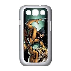 Wolverine Comic Samsung Galaxy S3 9300 Cell Phone Case White NiceGift pjz0035119447