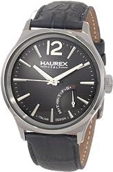 Haurex Italy Men's 6J341UG1 Grand Class Gray PVD Case Day Indication Watch