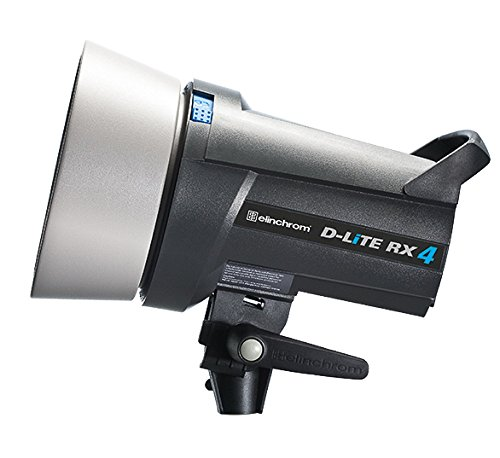 Elinchrom Compact D-Lite RX Four Compact with Built-In Skyport - Reflector Not Included - Studio Flash Profoto