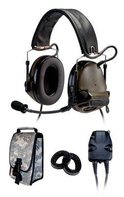 3M(TM) Peltor(TM) COMTAC(TM) III KIT - Dual COMM - Headband - Coyote