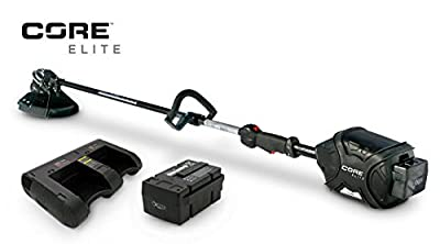 Core HD Grass Trimmer Plus 1 Elite Series Power Cell & Dual Station Quick Charger
