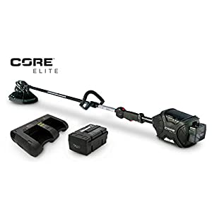 CORE E400 ELITE CORDLESS WEED WHACKER Weedeater 1-Battery 45-Minute Duel Charger