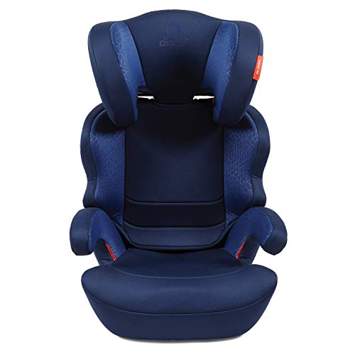 41H%2BOfsNMmL - Diono Everett NXT Ridgid Latch, Belt Positioning Booster Seat, High Back Booster, Lightweight Slim Fit Design, 8 Years 1 Booster Seat, Blue
