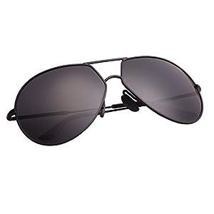 Aoron Design Round Aviator Polarized Sunglasses for Men and Women