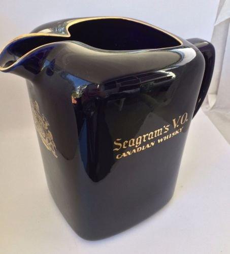 nd Seagram's V.O. Canadian Whisky Bar Pitcher (Seagram Vo Canadian Whiskey)