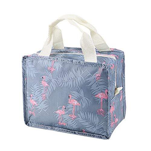 Funnmart Fashion Flamingo Cosmetic Bag Women Portable Make Up Bag Travel High Capacity Handbag Makeup Bag Toiletry Kits Necessaire -