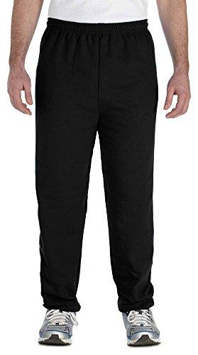 Gildan Heavy Blend 8 oz. 50/50 Sweatpants (G182) Black, L
