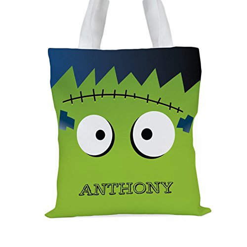 Monster Personalized Large Trick or Treat Tote Bag]()