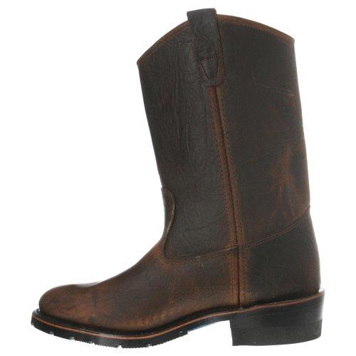 Double-h Boots: Heren 10-inch Western Cowboylaarzen 2522 Sahara