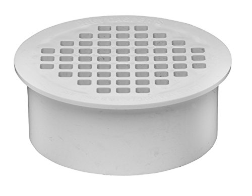 Oatey 43565 PVC Snap-In Drain, (Plastic Drain Covers)