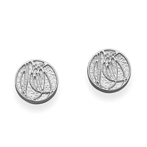 Ortak Charles Rennie Mackintosh Boucles d'oreilles argent e1068