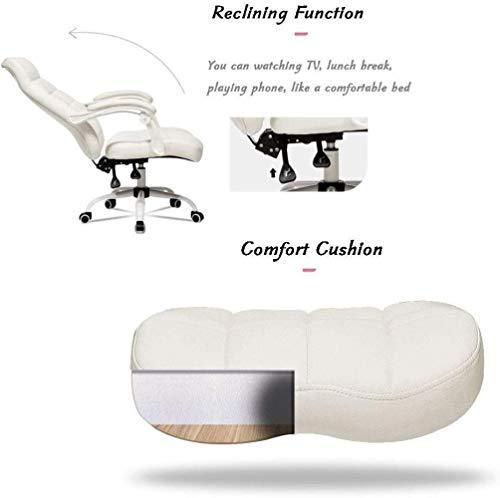 Stolar datorstol ergonomisk kontorsstol armstöd, liggande mellanrygg flexibel svängbar uppgift stol justerbar höjd knästol