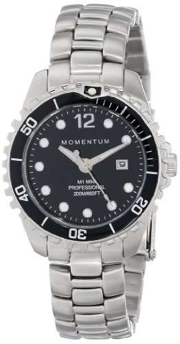 Momentum Women's 1M-DV07BB0 M1 Mini Analog Display Japanese Quartz Silver Watch