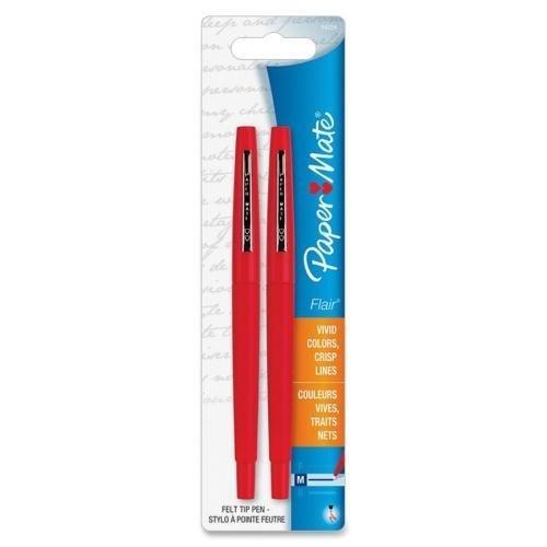 8422452PP Paper Mate Flair Point Guard Pen - Medium Pen P...