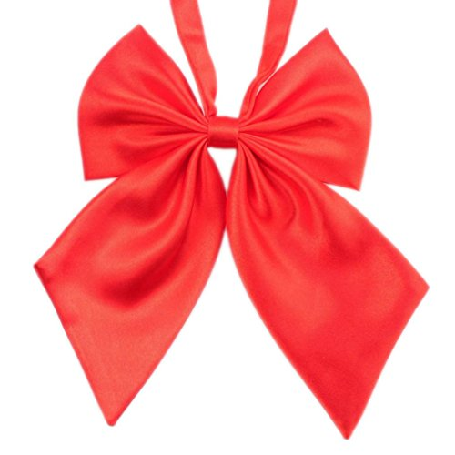 Price comparison product image Bow Ties, COOL99 Fashion Unique Womens Girls Novelty BIG Bow Tie Wedding Gift with Different Colors (One Size, Red)