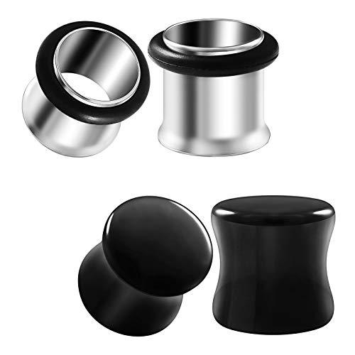 00 stainless steel plugs - 3
