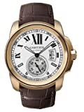 Cartier Calibre Men's 18K Rose Gold Watch - W7100009