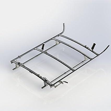 Ranger diseño combinación escalera accesorio de, aluminio, 3 bar, RAM Promaster ciudad: Amazon.es: Coche y moto