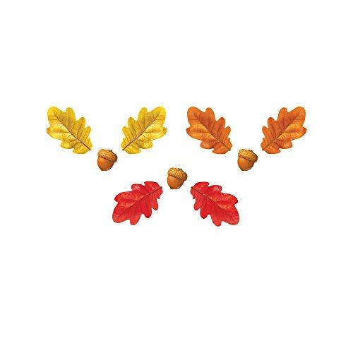 Autumn Accent - TREND enterprises, Inc. Fall Oak Leaves & Acorns Classic Accents Var. Pack, 108 ct
