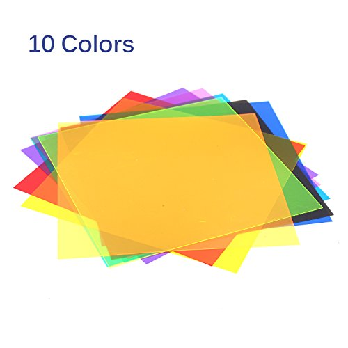Etyhf Colored Overlays Transparency Color Film Plastic Sheets ...