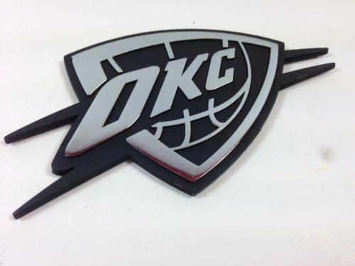 OKC Thunder METAL Auto Emblem - Okc Outlet