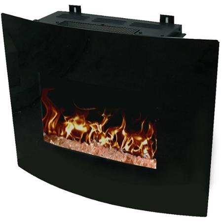 Decor Flame 24'' Wall-Mounted Fireplace by Generic (Image #3)