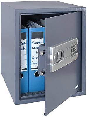 HMF 4612812 Caja Fuerte, Cerradura Electrónica, Caja de Seguridad ...