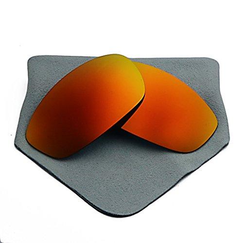 Polarized Lenses Replacement for Oakley Blender Fire Red - Blenders Sunglasses