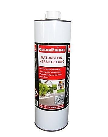 CleanPrince Natursteinversiegelung 1 Liter wasserabweisend ...