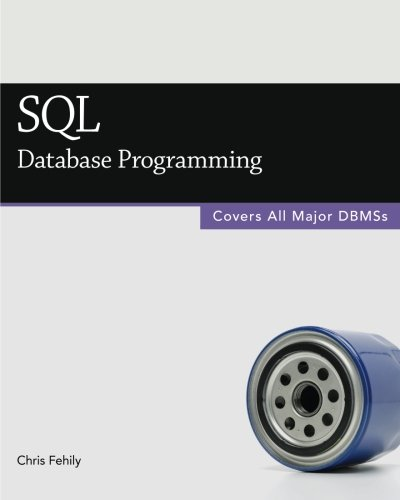 SQL Database Programming Chris Fehily product image