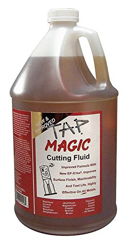 Tap Magic 10128E Fluid with Ep-Xtra, 1 gallon, Yellow  (Pack of 2)