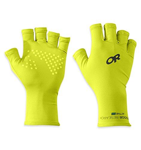 Outdoor Research ActiveIce Spectrum Sun Gloves, Lemongrass, Large
