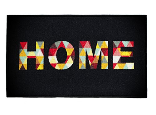 Totem Ideas Home Indoor Welcome Mat, Front Door Mats, Non Slip Rubber Backing Doormat, Waterproof and Machine Washable