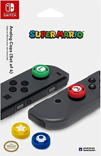 HORI Nintendo Switch Super Mario Analog Caps Officially Licensed By Nintendo – Nintendo Switch