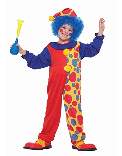 Clown Costumes For Toddlers (Forum Novelties Child's Value Clown)
