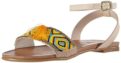Inuovo 6391 - Sandalias Mujer Amarillo