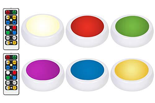 wireless color led lights