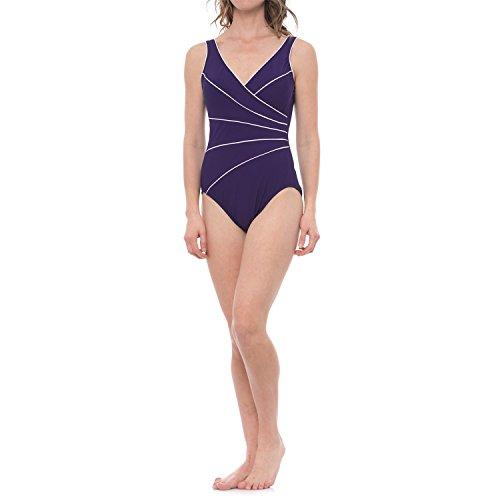 Miraclesuit-Tummy-Control-Horizon-One-Piece-Purple-Swimsuit-Size-16