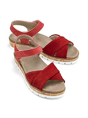 Avena Dames Sandaal Kussen Droom - Wasbaar Vervanging Rood