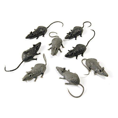 Bristol Novelty AK034 Scary Stuff Mice (8/PKT) -