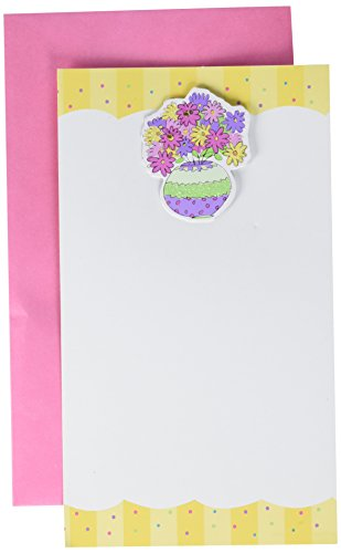 Amscan Flower Pot Imprintable Invitations | Pack of 8 |Party Supply ()