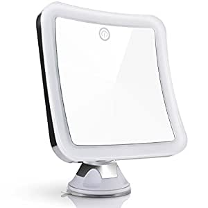 Amazon Com Sanheshun 10x Magnifying Lighted Travel Makeup Mirror Touch Activated Locking
