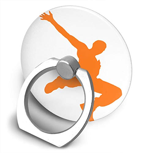 Yidafunp JUSTFORU Parkour Dancer Cell Phone Ring Stand Holder 360 Degree Rotation Car Mount Phone Finger Stand for Almost All Phones and Cases]()