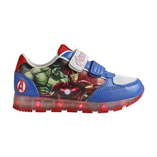 Zapatillas deportivas con luz Los Vengadores- Talla 25