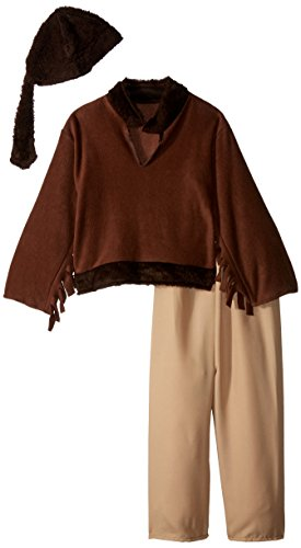 RG Costumes Frontier Boy Costume, Brown, -