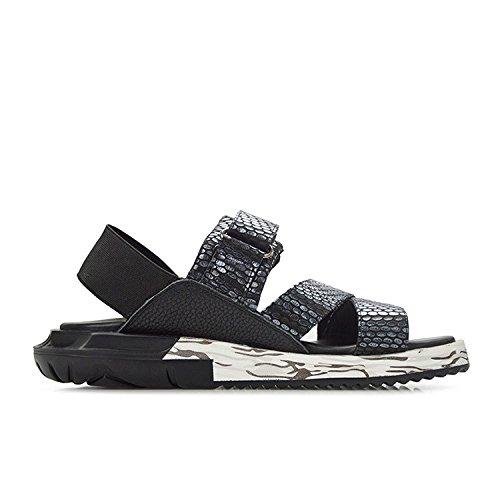 Sandalias Summer Velcro Blue Breathable Shoes Beach Casual Fashion Joker grqx6Og