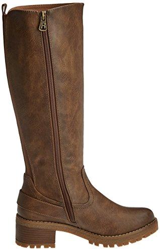 Refresh Damen 63929 Stiefel, Elfenbein, EU Braun (Taupe)