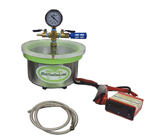 "3 - QT Heated Vacuum Chamber Digital Temperature Controller."" Plug N Play"""