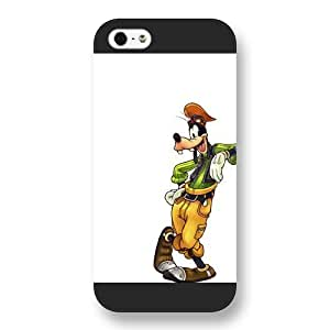 Customized Black Frosted Disney A Goofy Movie iPhone 5 5s case