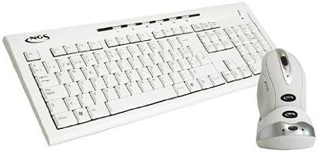 NGS Slim Snow Kit Optical USB - Teclado: Amazon.es: Informática